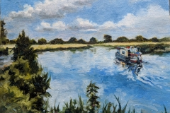 River-Wey     8 x 6 in Cost £120